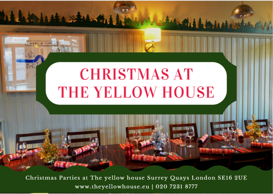 Christmas at The yellow house